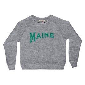 Milo in Maine Milo In Maine Women's Long Sleeve Raglan Pullover - Maine