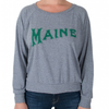 Milo In Maine Women's Long Sleeve Raglan Pullover - Maine