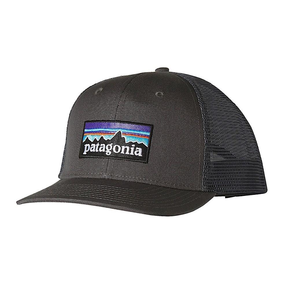 Patagonia Trucker Hat - P6 Logo - Forge Grey
