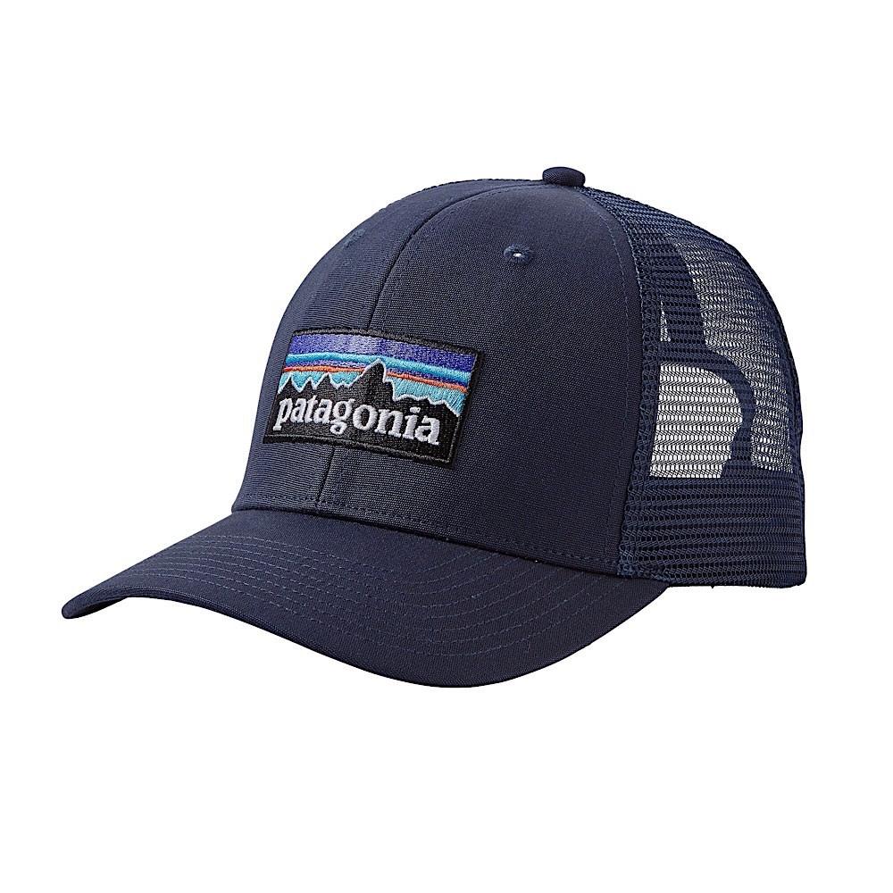 Patagonia Trucker Hat - P6 Logo - Navy Blue
