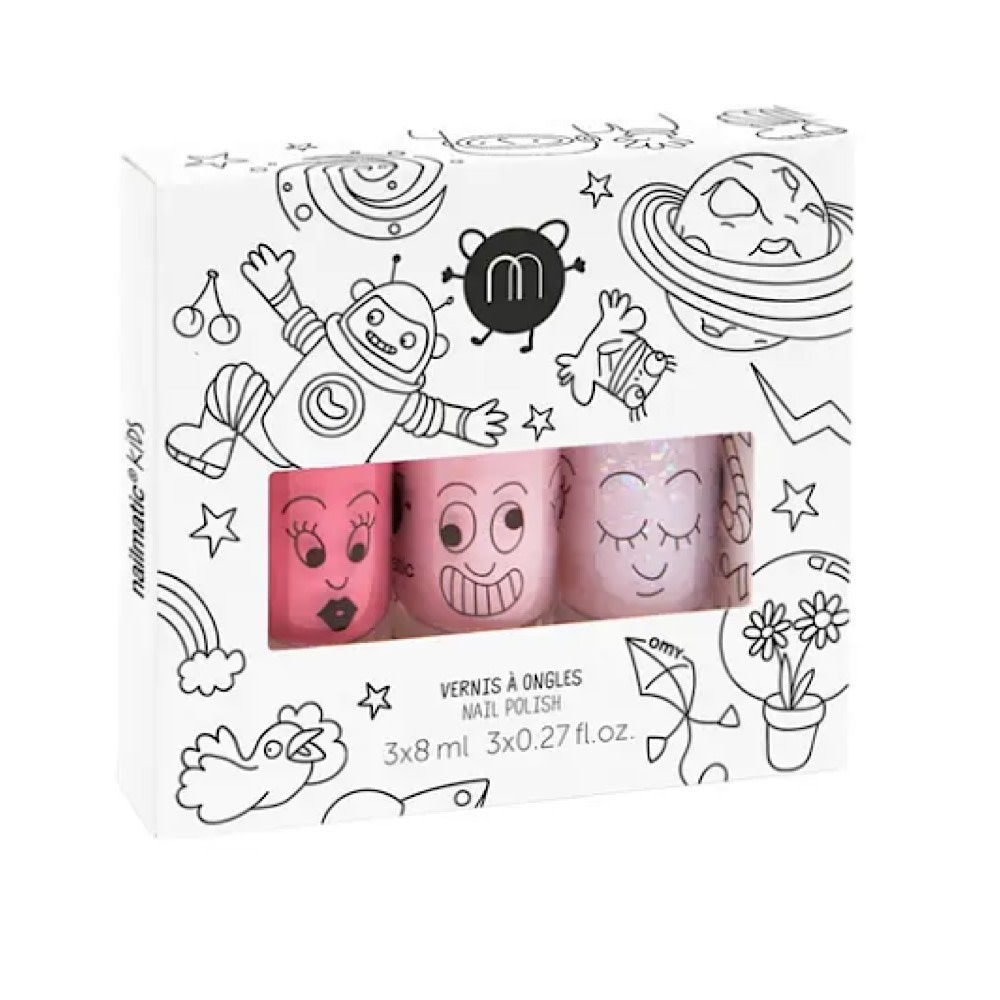 Nailmatic Nail Polish 3 Pack - Cosmos