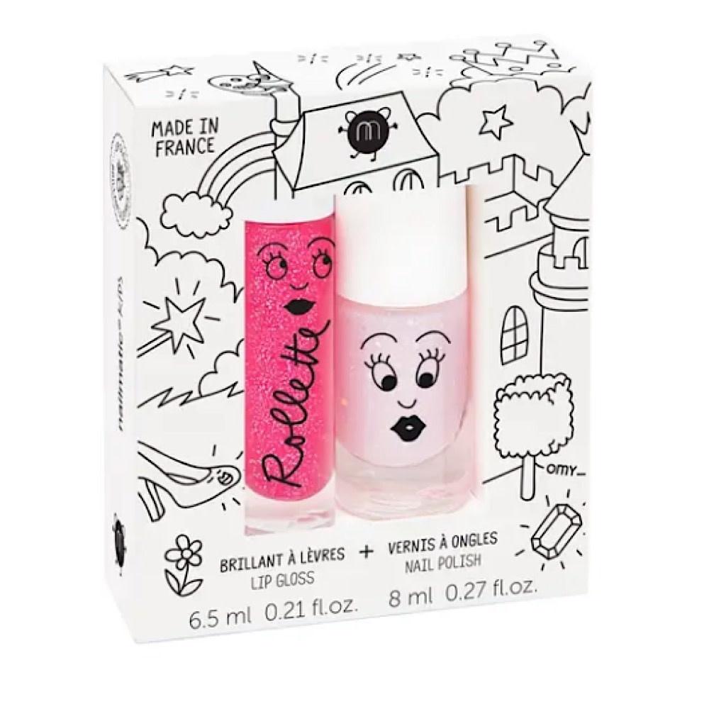 Nailmatic Nail Polish and Lip Gloss - Fairytales