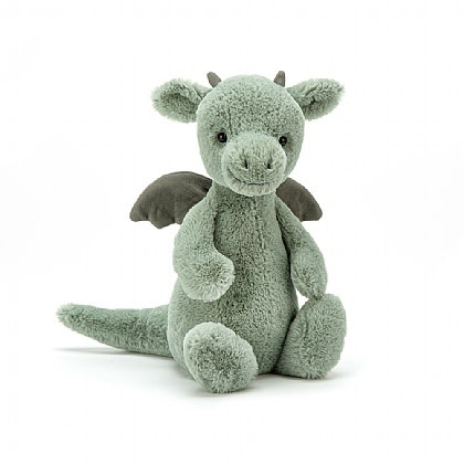 Jellycat Bashful Dragon - Small - 7 Inches