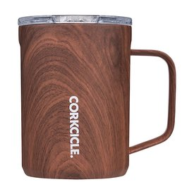 Corkcicle Corkcicle Mug 16oz - Walnut Wood