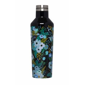 Corkcicle Corkcicle + Rifle Paper Canteen 16oz - Garden Party Blue