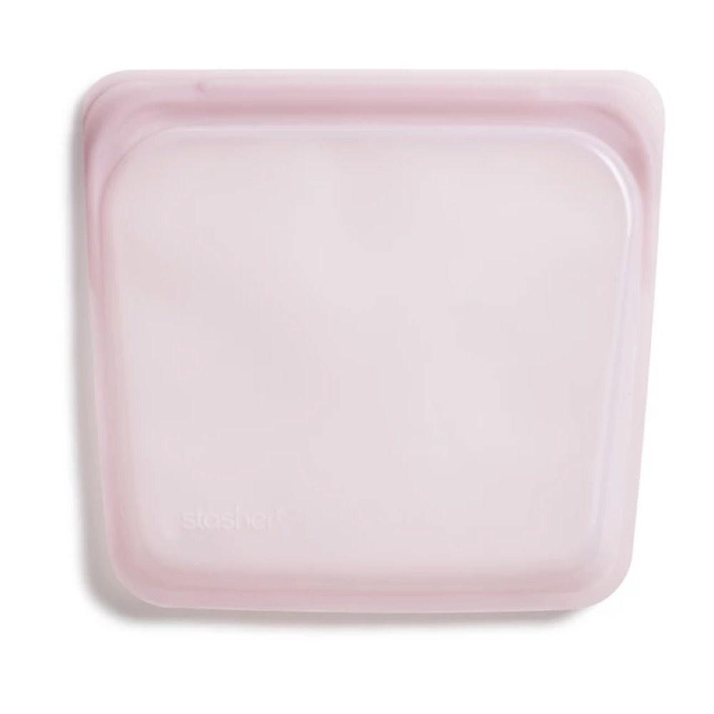 Stasher Bag Stasher Bag - Sandwich - Rose Quartz