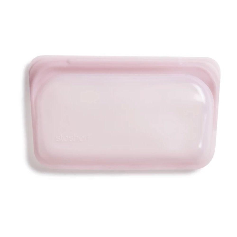 Stasher Bag - Snack - Rose Quartz