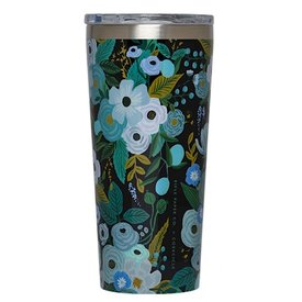 Corkcicle Corkcicle + Rifle Paper Tumbler 16oz - Garden Party Blue
