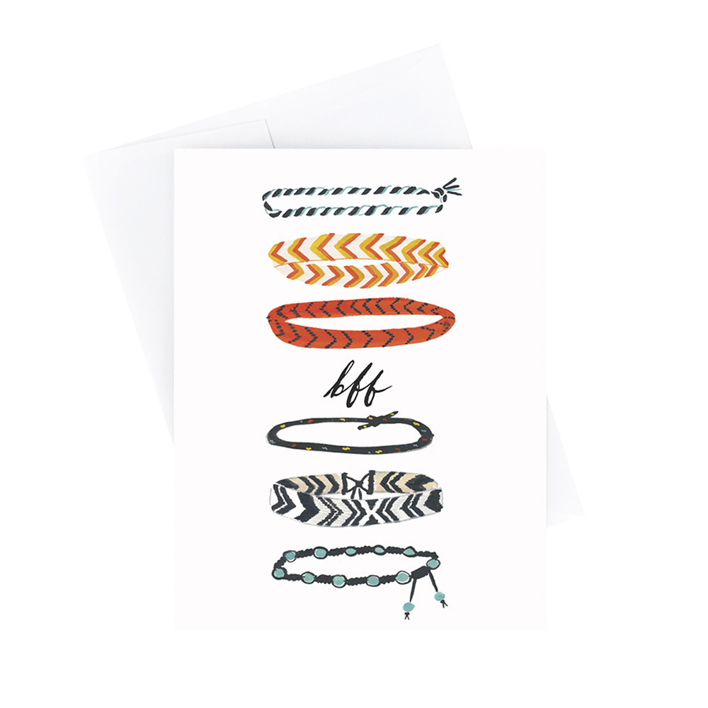 Idlewild Card - BFF Bracelets