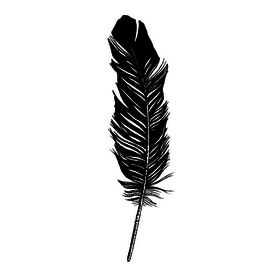 Tattly Tattly Tattoo 2-Pack - Feather