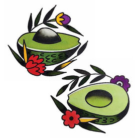 Tattly Tattly Tattoo 2-Pack - Avocado