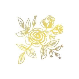 Tattly Tattly Tattoo 2-Pack - Gold Floral