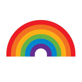 Tattly Tattly Tattoo 2-Pack - Rainbow