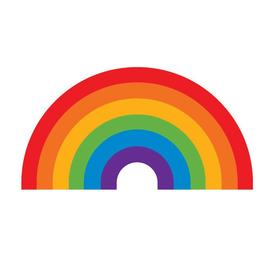 Tattly Tattly Tattoo 2-Pack - Rainbow
