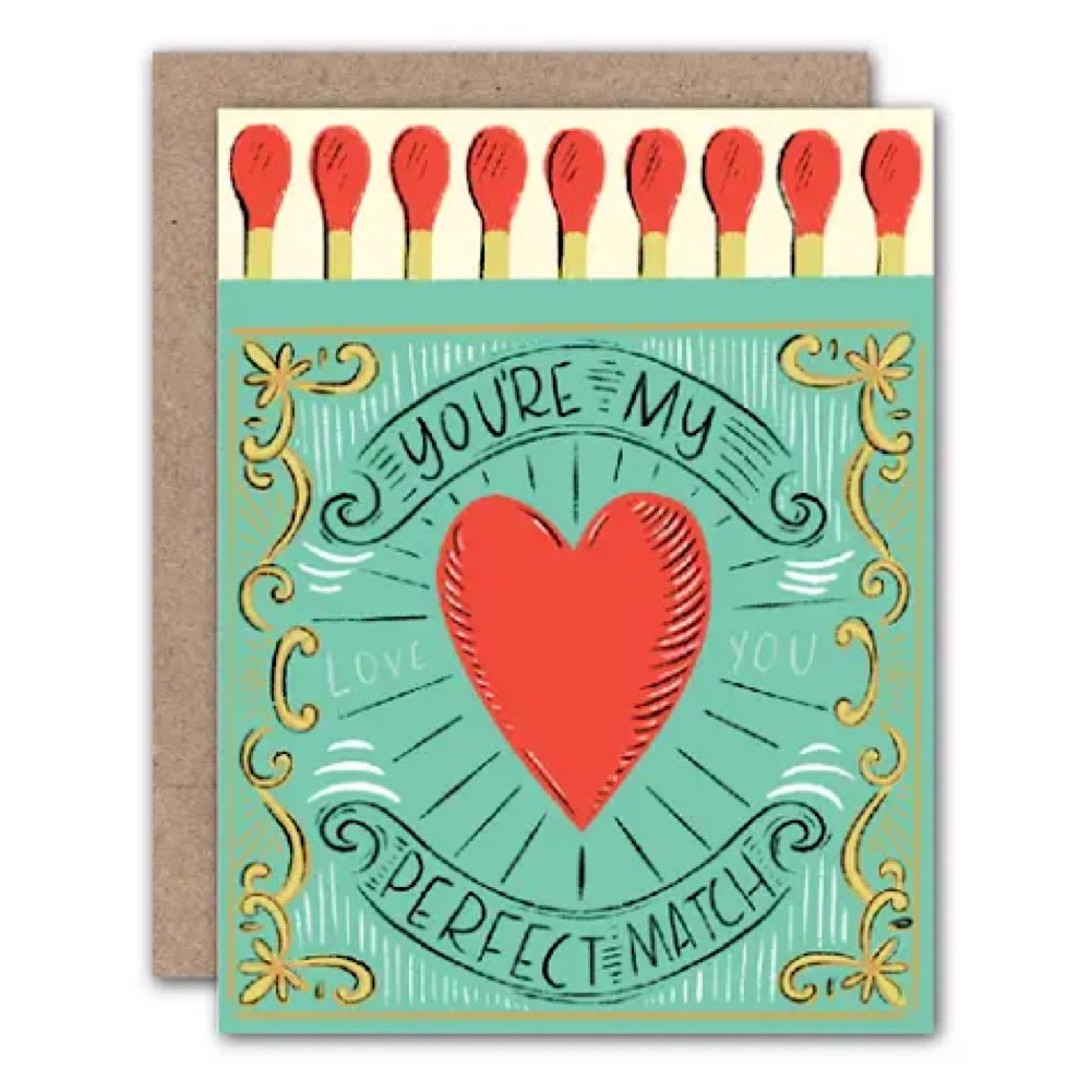 Olive & Company Card - You're My Perfect Match