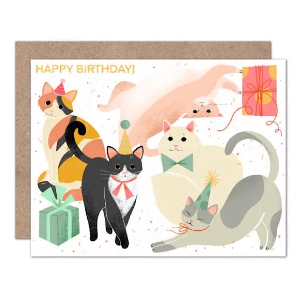 Olive & Company Olive & Company Card - Kitty Bday