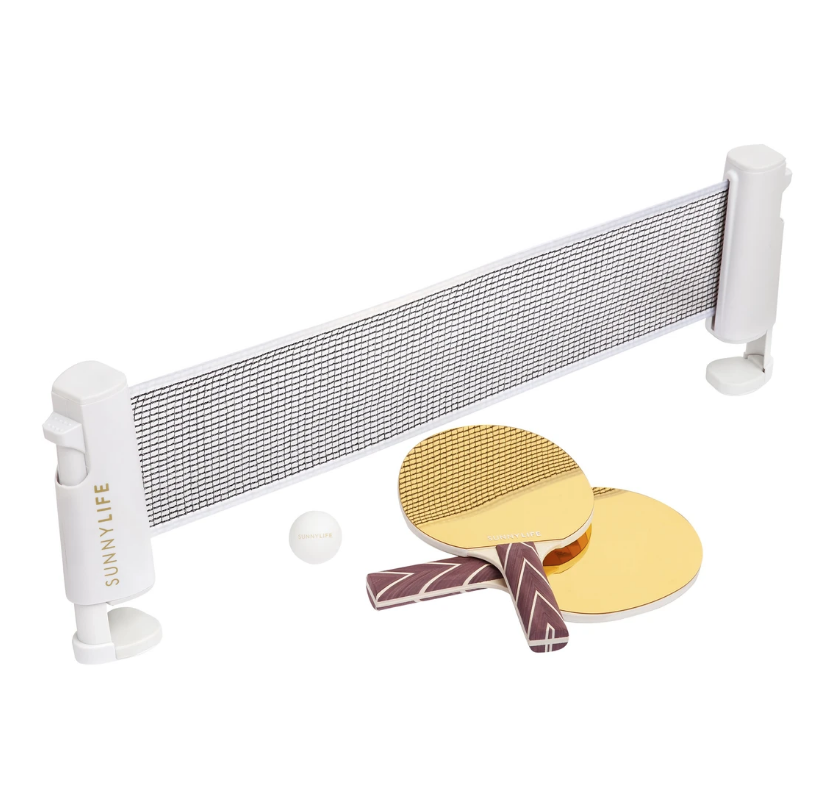 Sunnylife Table Tennis Play On - Mirror Gold