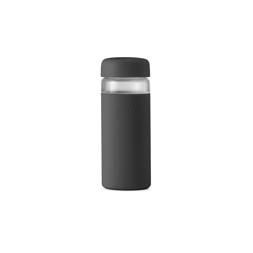 Porter Wide Mouth Bottle 16oz - Charcoal