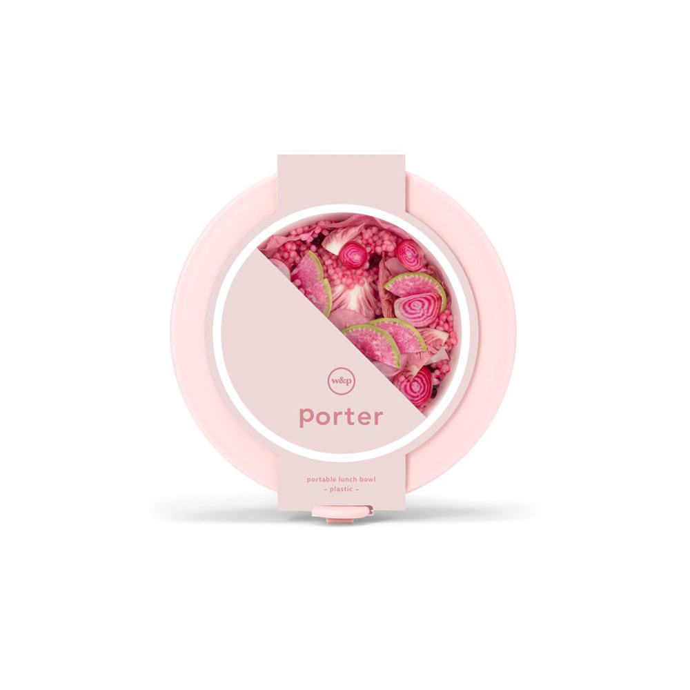 Porter Porter Bowl Plastic - Blush