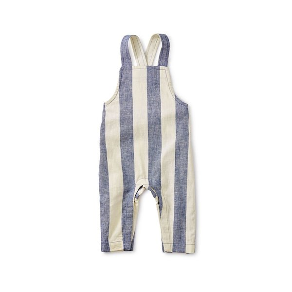 Tea Collection Tea Collection Striped Overall - Astral