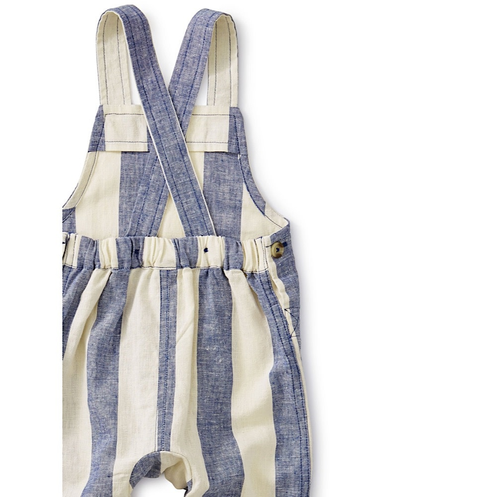 Tea Collection Striped Overall - Astral