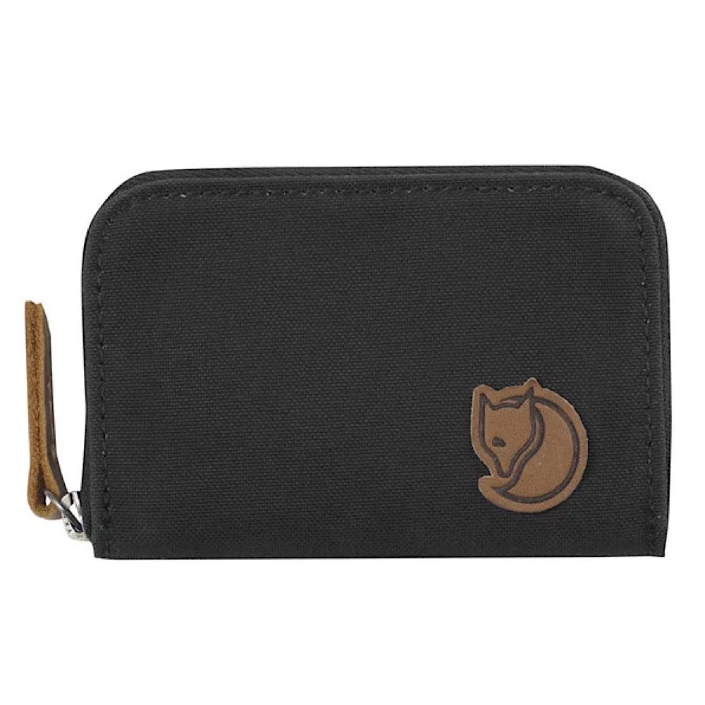 Fjallraven Zip Card Holder Wallet - Dark Grey