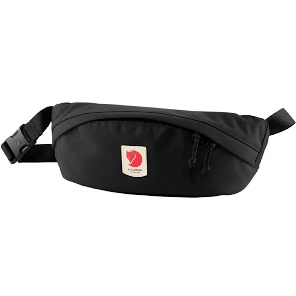 Fjallraven Arctic Fox LLC Fjallraven Ulvo Hip Pack Medium - Black