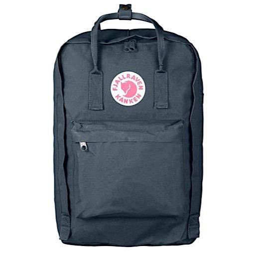 """Fjallraven Arctic Fox LLC Fjallraven Kanken 17"""" Laptop Backpack - Graphite"""
