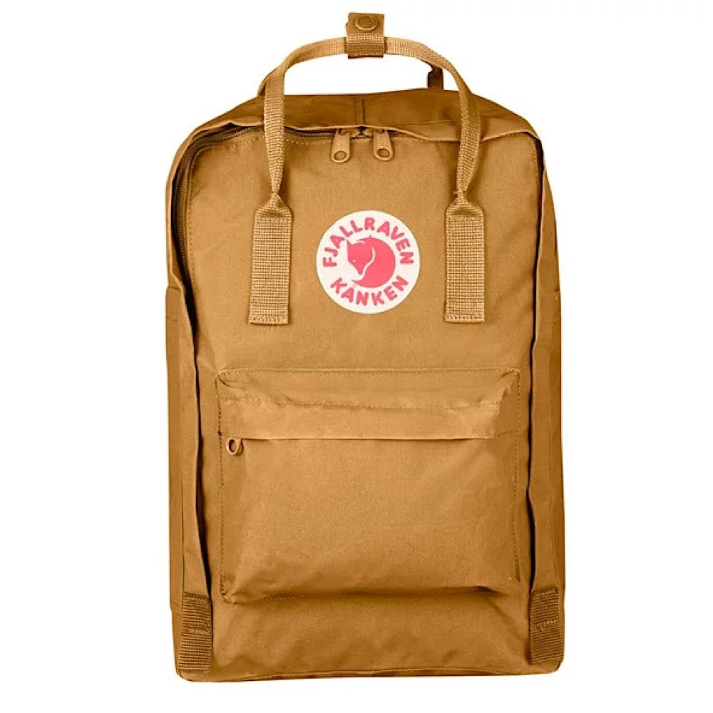 "Fjallraven Arctic Fox LLC Fjallraven Kanken 15"" Laptop Backpack - Acorn"