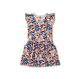 Tea Collection Pocket Dress - Spring Citrus