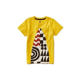 Tea Collection Surf's Up Tee - Acacia