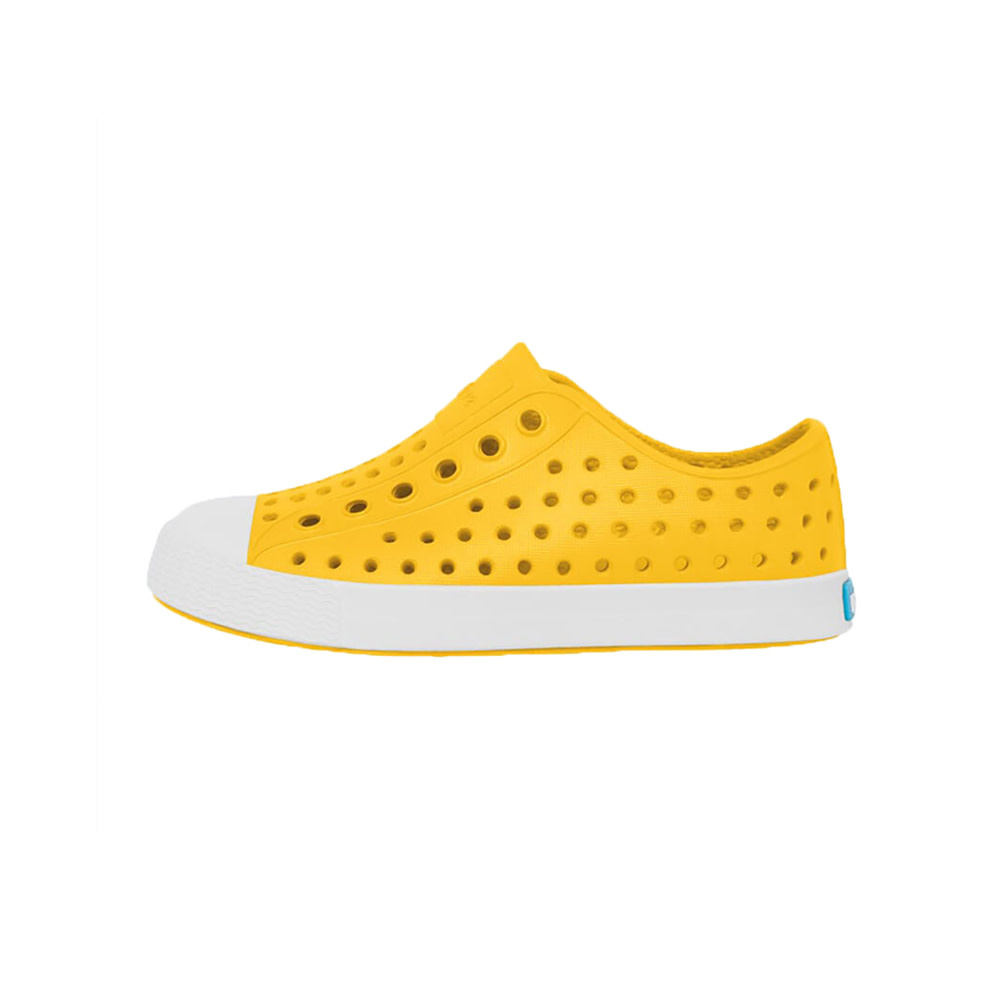 Native Shoes Jefferson Child - Crayon Yellow/Shell White