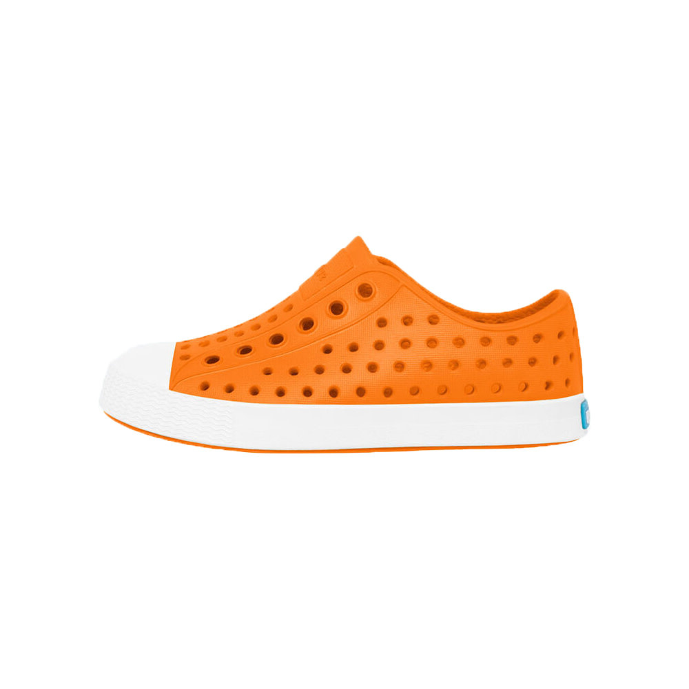 Native Shoes Jefferson Child - City Orange/Shell White