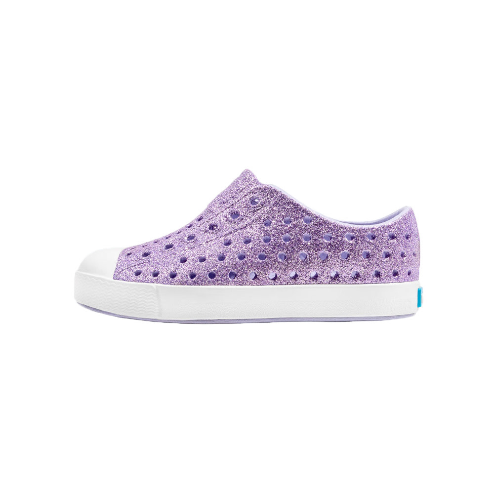 Native Shoes Jefferson Child - Powder Bling/Shell White