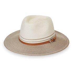 Wallaroo Hat Company Petite Kristy Hat - Ivory/Stone