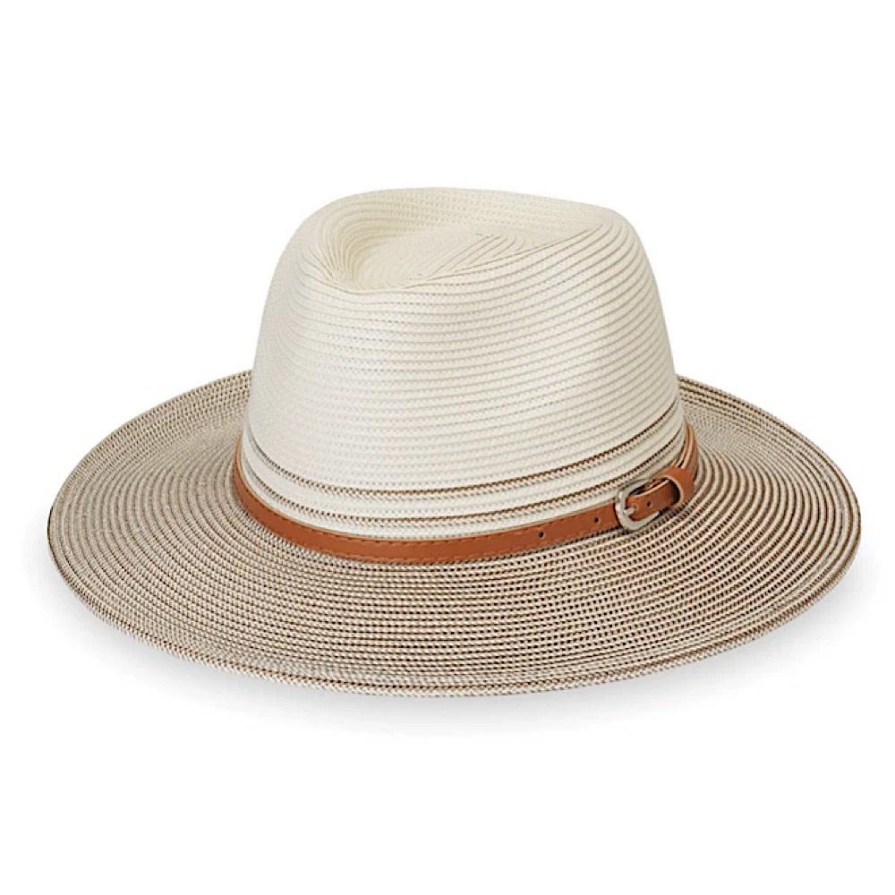 Petite Kristy Hat - Ivory/Stone