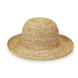 Wallaroo Hat Company Petite Catalina Hat - Natural