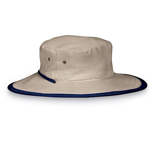 Jr. Explorer Hat - Camel/Navy
