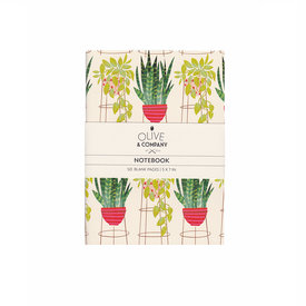 Olive & Company Olive & Company Journal - Tall Potted Plants