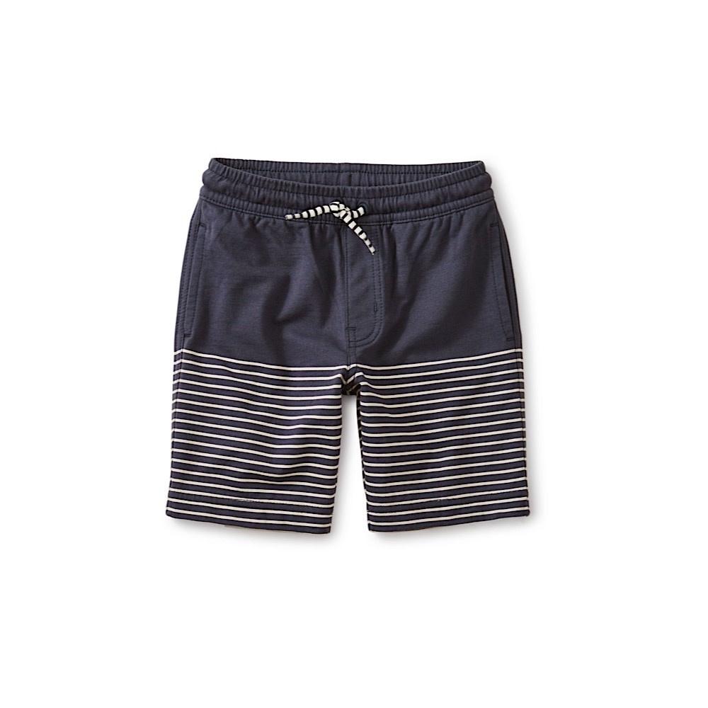 Tea Collection Knit Beach Shorts - Indigo