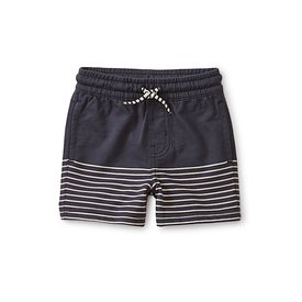 Tea Collection Tea Collection Knit Beach Baby Shorts - Indigo