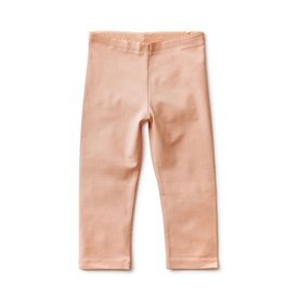 Tea Collection Solid Capri Leggings - Dusty Coral