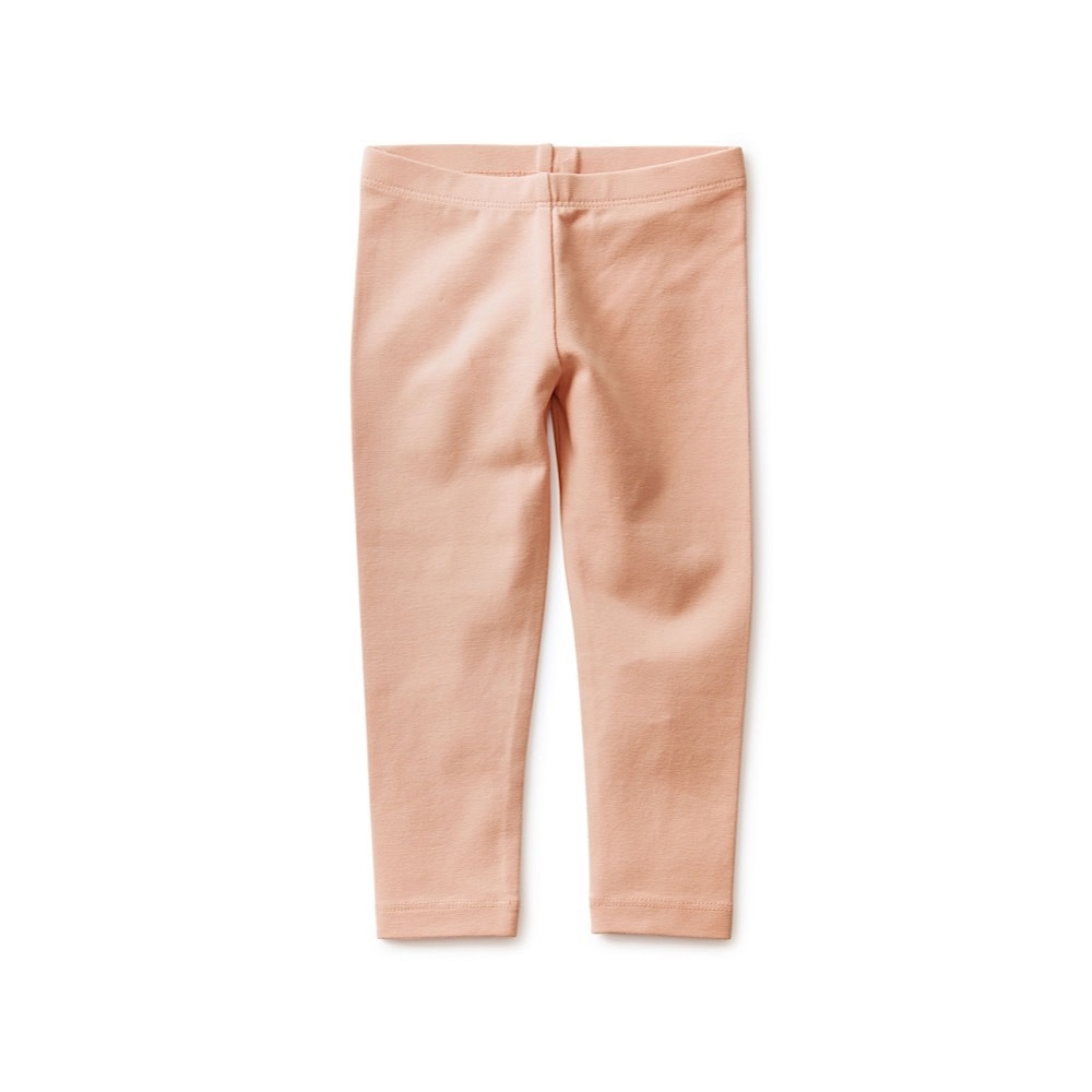 Tea Collection Solid Baby Leggings - Dusty Coral