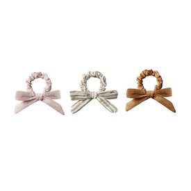 Rylee + Cru Rylee + Cru Little Bow Scrunchie Set