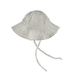 Rylee + Cru Rylee + Cru Floppy Sun Hat - Olive Stripe