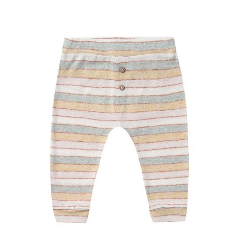 Rylee + Cru Rylee + Cru Baby Pant - Stripe - Carnival