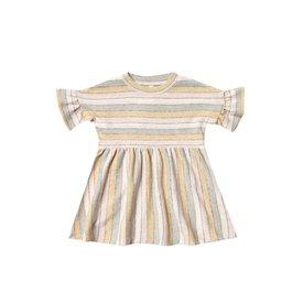 Rylee + Cru Rylee + Cru Babydoll Dress - Stripe - Carnival