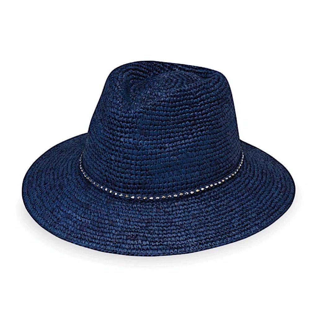 Wallaroo Hat Company Malibu Hat - Navy