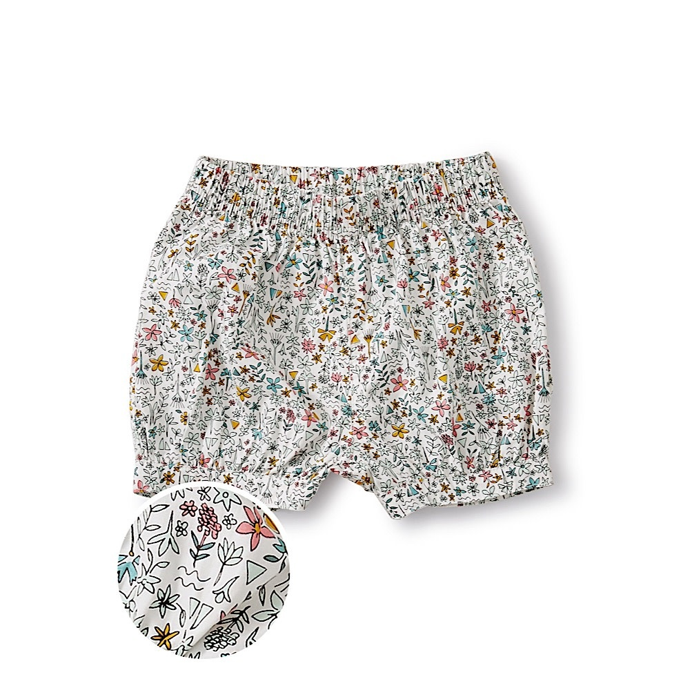 Tea Collection Bubble Shorts - Nile Floral