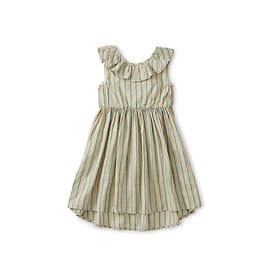 Tea Collection Tea Collection Ruffle Hi-Lo Dress - Marsh